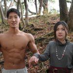 滅びの呪文を唱えるマッチョ/reference photo for drawing muscle/date at the park@写真 マッチョ