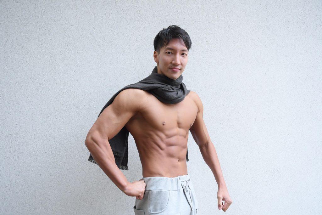 勇者マッチョ@写真 マッチ/reference photo for drawing muscle