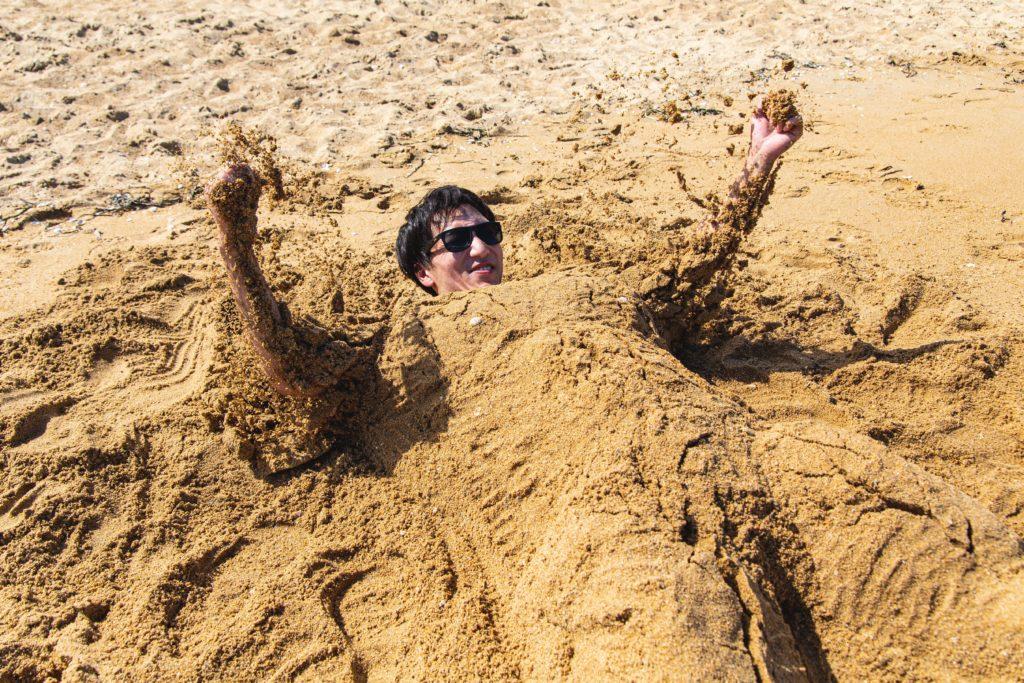 砂から産まれるマッチョ1