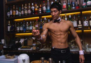 マッスルクラッシュアイス(ワンハンド)/reference photo for drawing muscle bar@著作権フリー 画像 筋肉