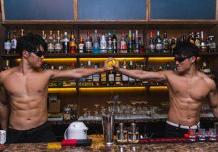 レモン生絞り双子マッチョ/reference photo for drawing muscle bar/twins@著作権フリー 画像 筋