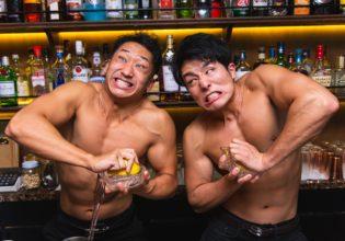 レモン生絞りマッチョ(強)/reference photo for drawing muscle bar@マッスル バー 生搾り