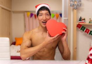マッスルサンタから愛(筋力)をこめて/reference stock photo muscle in Xmas christmas@マッチョ写真集