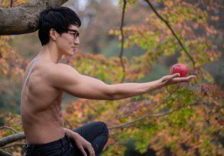 りんごとマッチョ@モデル 筋肉