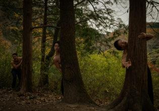 僕たちの…森へ…ようこそ…@フリー素材 マッチョ