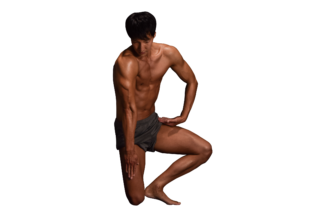 マッチョフォント「B」/reference stock photo macho font@著作権フリー 画像 筋肉