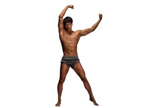 マッチョフォント「K」/reference stock photo macho font@著作権フリー 画像 筋肉