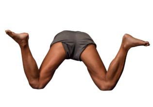 マッチョフォント「W」/reference stock photo macho font@著作権フリー 画像 筋肉