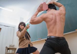 ジョジョ立ちで愛を紡ぐマッチョ/jojo pose reference stock photo muscle at Valentine's Day@著作権フリー 画像 筋肉