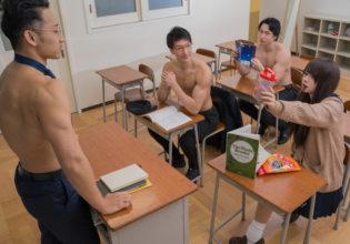せんせー、プロテイン飲んでいい?/reference stock photo muscle at high school student@フリー素材 筋肉