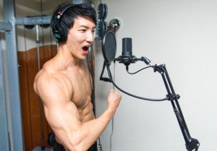 【音声素材】土台が違うよ土台が!/reference stock photo muscle material voice@アスリートモデル 筋肉