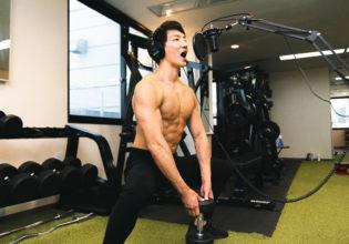 【音声素材】パンプアップreference stock photo muscle material voice pump up@アスリートモデル 筋肉