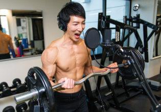 【音声素材】上腕二頭筋/reference stock photo muscle material voice biceps@アスリートモデル 筋肉