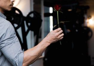 薔薇と前腕/reference stock photo muscle@アスリートモデル マッチョ