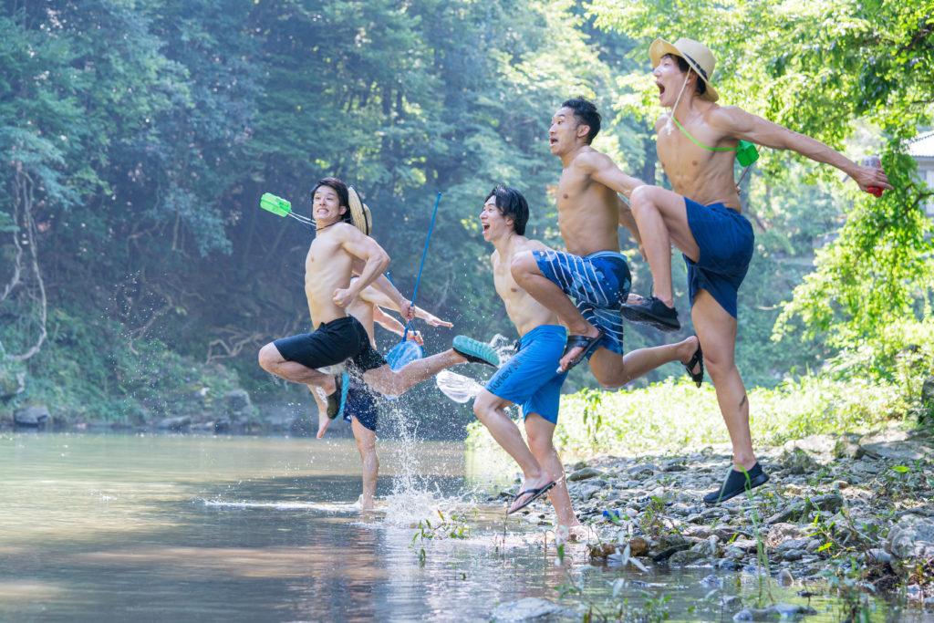 夏をかけるマッチョ/reference photo muscle summer@フリー素材 筋肉