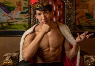 裸の王様/reference photo muscle get isekaid@フリー素材 筋肉