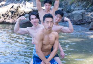海の精霊マッチョ@著作権フリー画像 筋肉
