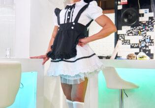【メイド喫茶のマッチョ】See you マッチョメイド/reference photo for drawing maid macho/maid cafe@メイド喫茶 画像 フリー