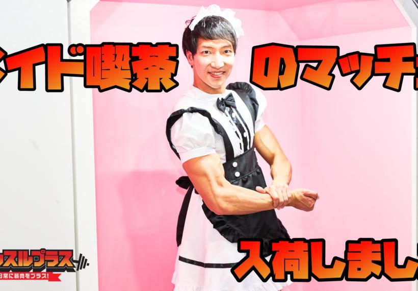 【メイド喫茶のマッチョ】reference photo for drawing maid macho/maid cafe@マッチョメイド